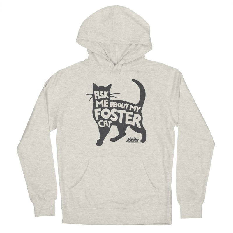 Ask Me About My Foster Cat Men's Pullover Hoody by BARCS Online Shop