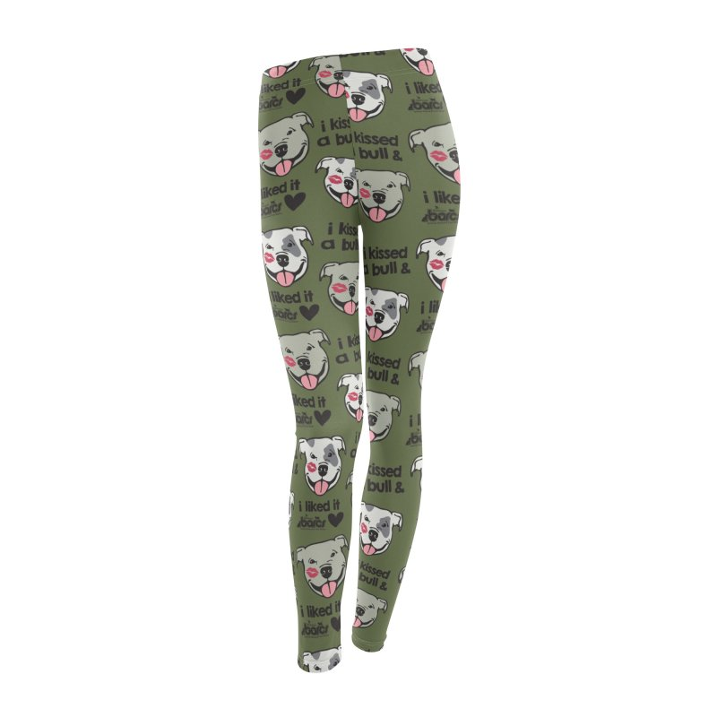 I Kissed a Bull (Pattern) in Women's Leggings Bottoms by BARCS Online Shop