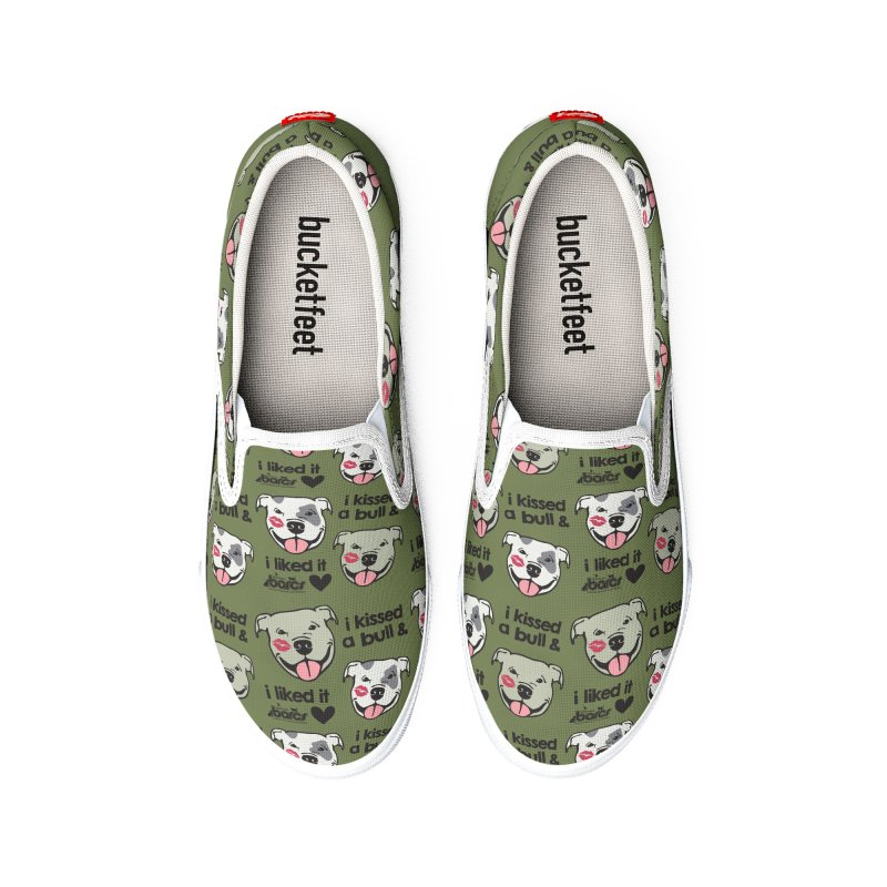 I Kissed a Bull (Pattern) Women's Shoes by BARCS Online Shop