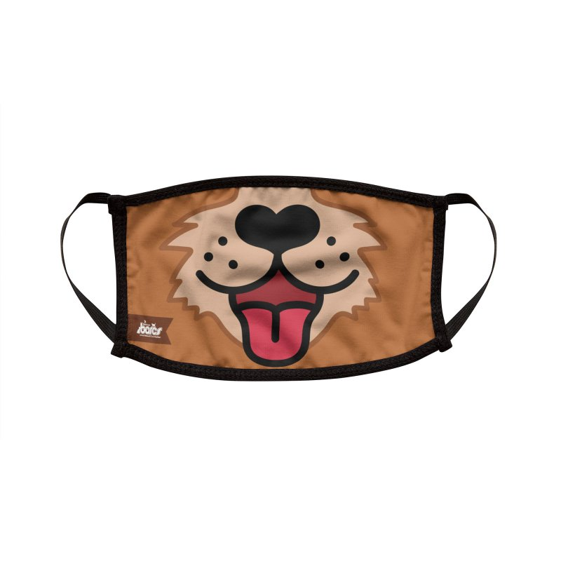 Dog Face #8 Accessories Face Mask by BARCS Online Shop