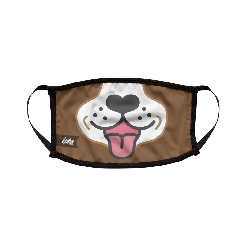 Dog Face #9 Accessories Face Mask by BARCS Online Shop