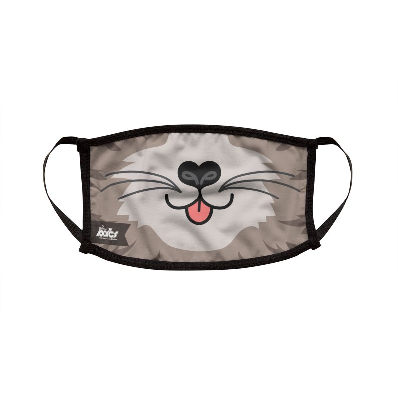Cat Face #4 Accessories Face Mask by BARCS Online Shop