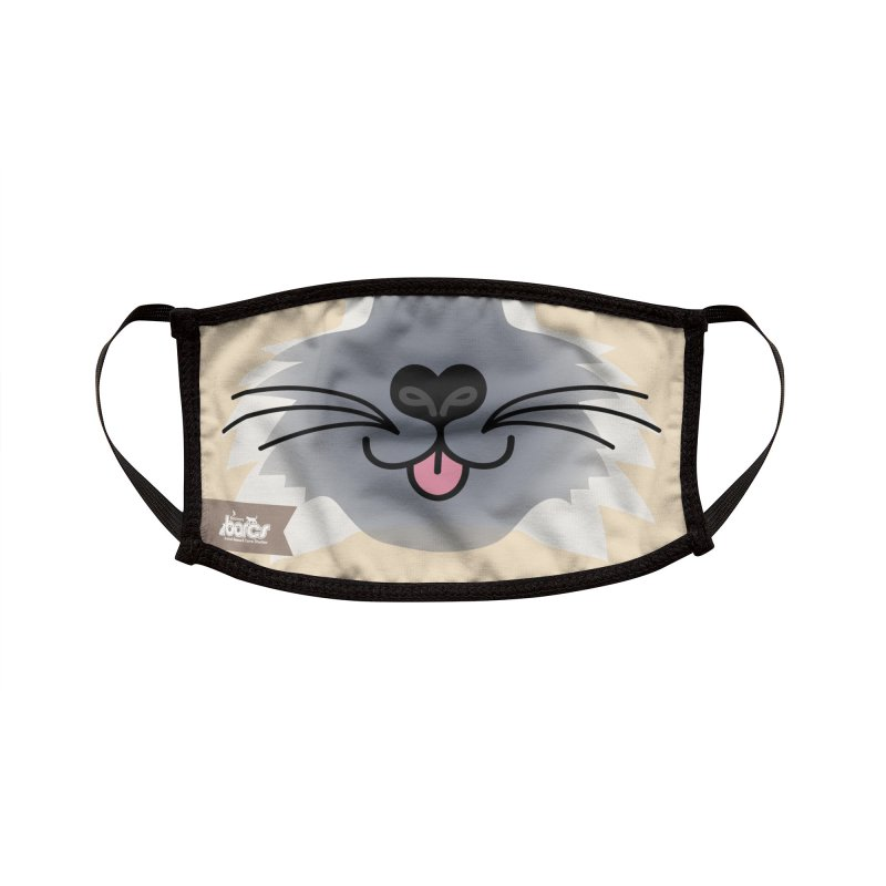 Cat Face #5 Accessories Face Mask by BARCS Online Shop