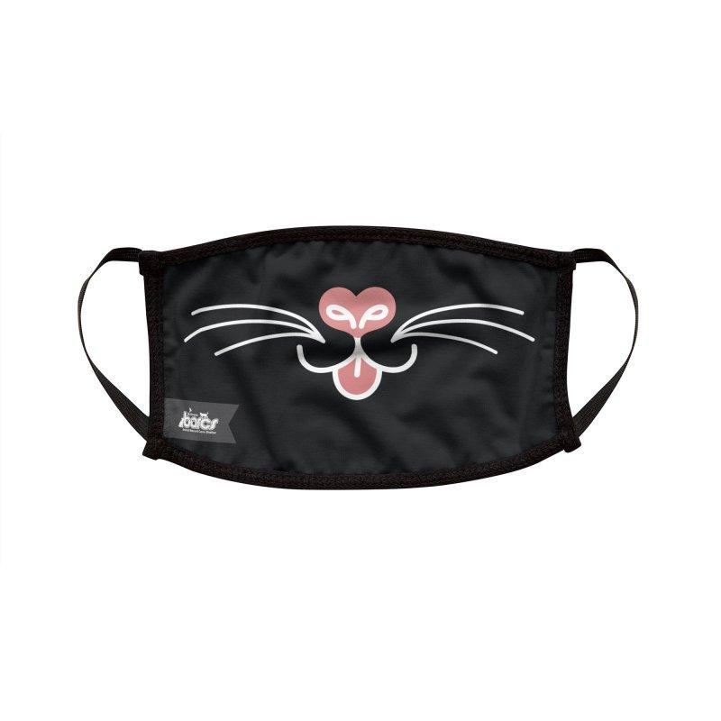 Cat Face #6 Accessories Face Mask by BARCS Online Shop
