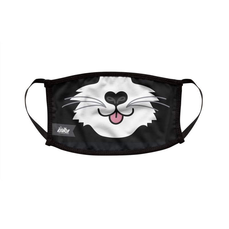 Cat Face #7 Accessories Face Mask by BARCS Online Shop