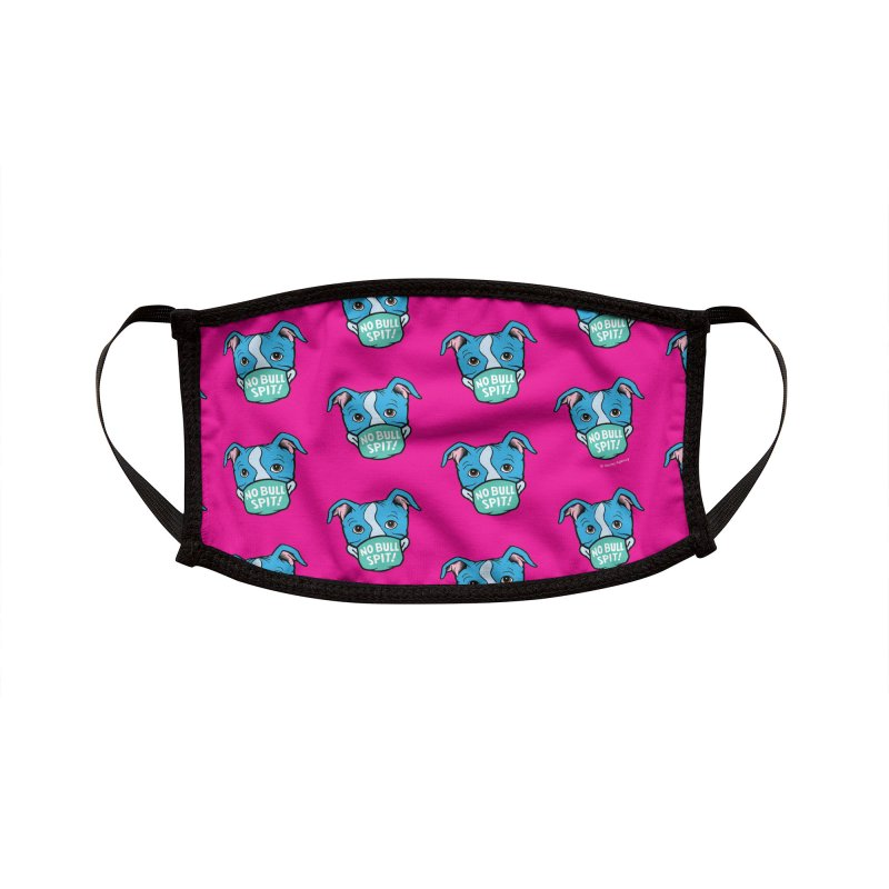 No Bull Spit - Pattern (Pink) Accessories Face Mask by BARCS Online Shop