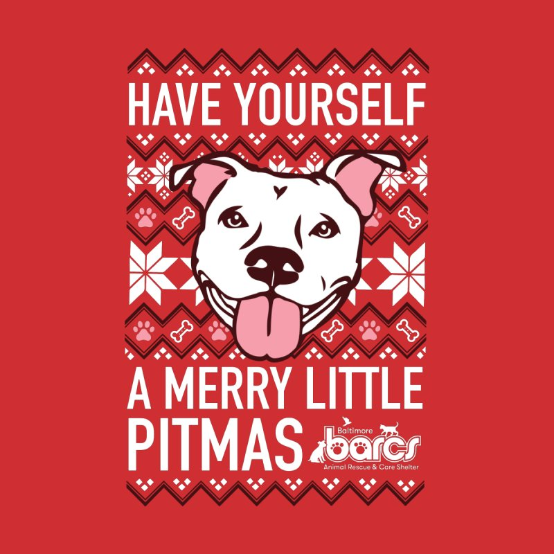Have Yourself a Merry Little Pitmas Men's T-Shirt by BARCS Online Shop