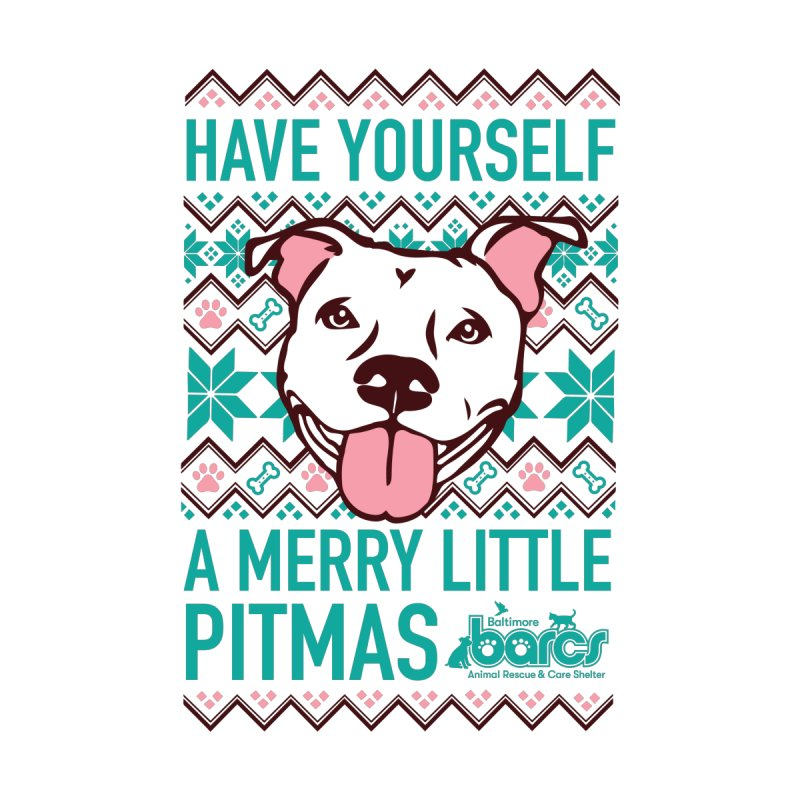 Have Yourself a Merry Little Pitmas Women's T-Shirt by BARCS Online Shop