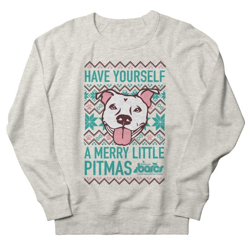 Have Yourself a Merry Little Pitmas Men's Sweatshirt by BARCS Online Shop