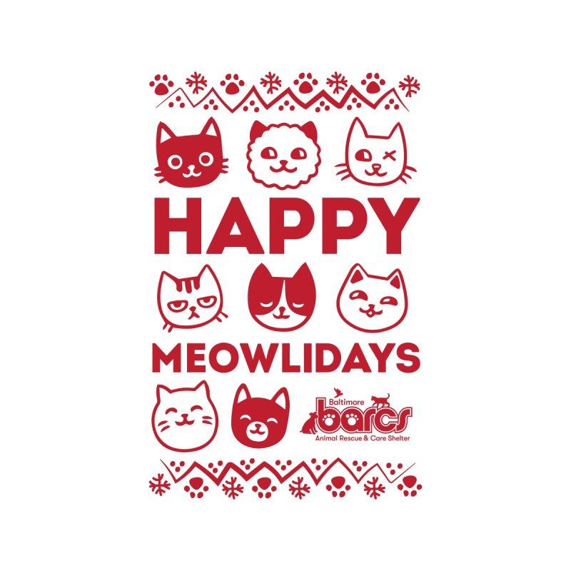 Happy Meowlidays Men's Sweatshirt by BARCS Online Shop