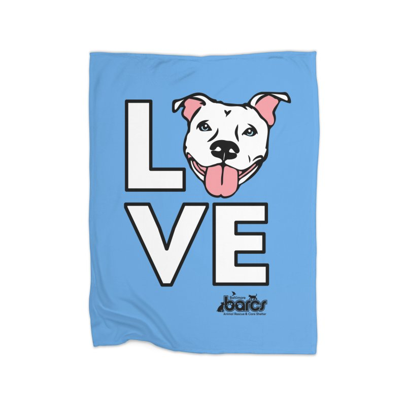 Puppy LOVE Home Blanket by BARCS Online Shop