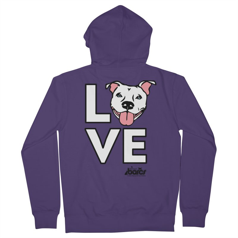 Puppy LOVE Women's Zip-Up Hoody by BARCS Online Shop