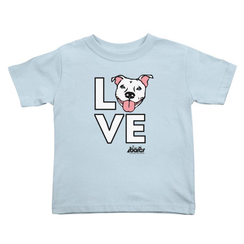 Puppy LOVE Kids Toddler T-Shirt by BARCS Online Shop