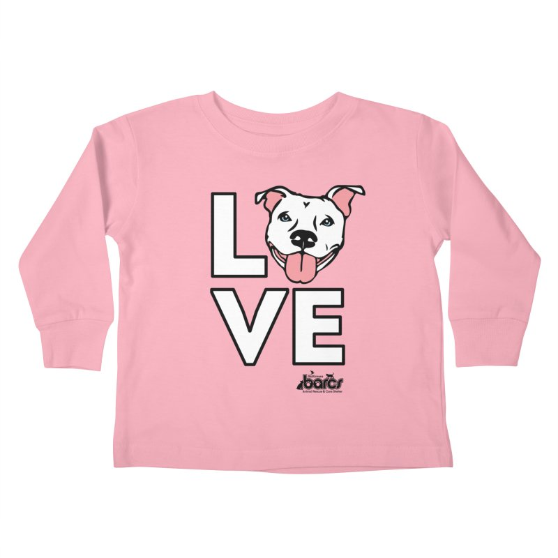 Puppy LOVE Kids Toddler Longsleeve T-Shirt by BARCS Online Shop