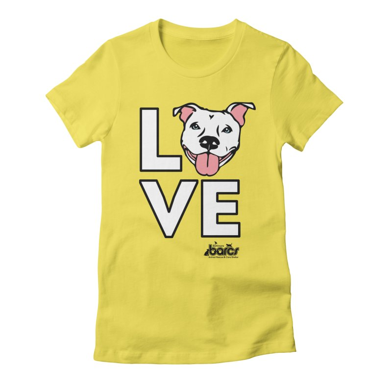 Puppy LOVE Women's T-Shirt by BARCS Online Shop