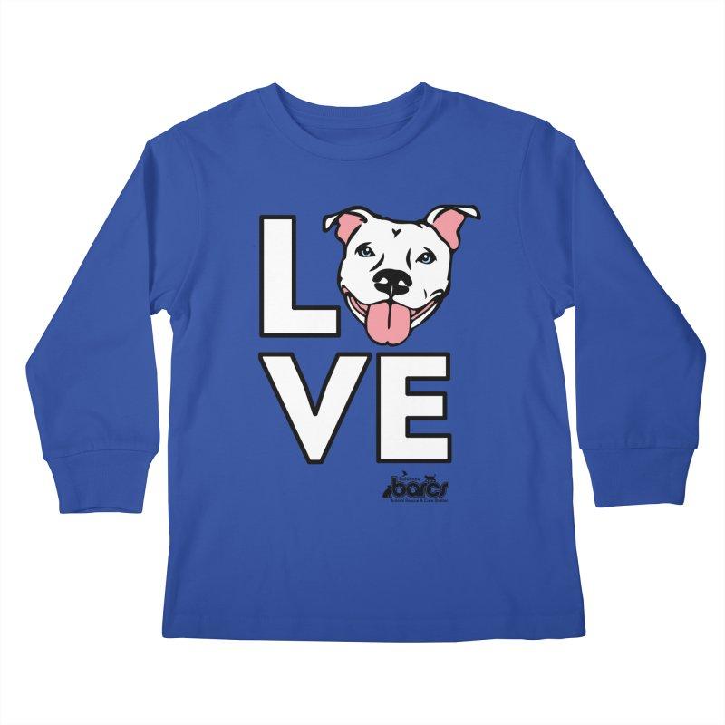 Puppy LOVE Kids Longsleeve T-Shirt by BARCS Online Shop
