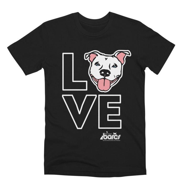 Puppy LOVE (Dark) Men's T-Shirt by BARCS Online Shop
