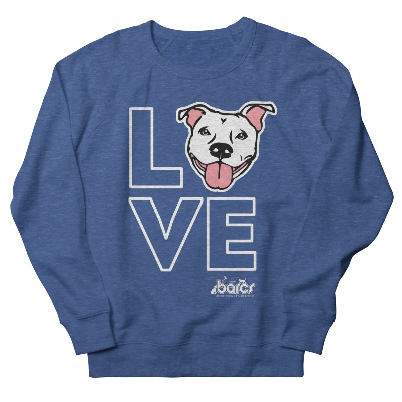 Puppy LOVE (Dark) Women's Sweatshirt by BARCS Online Shop