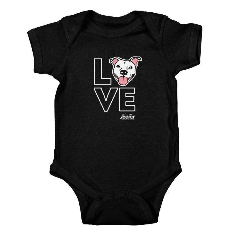 Puppy LOVE (Dark) Kids Baby Bodysuit by BARCS Online Shop