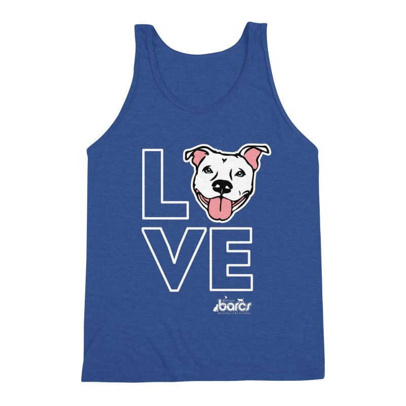 Puppy LOVE (Dark) Men's Tank by BARCS Online Shop