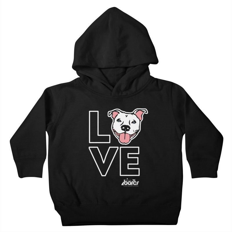Puppy LOVE (Dark) Kids Toddler Pullover Hoody by BARCS Online Shop