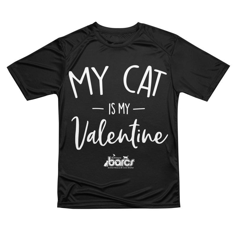 My Cat is my Valentine Women's T-Shirt by BARCS Online Shop