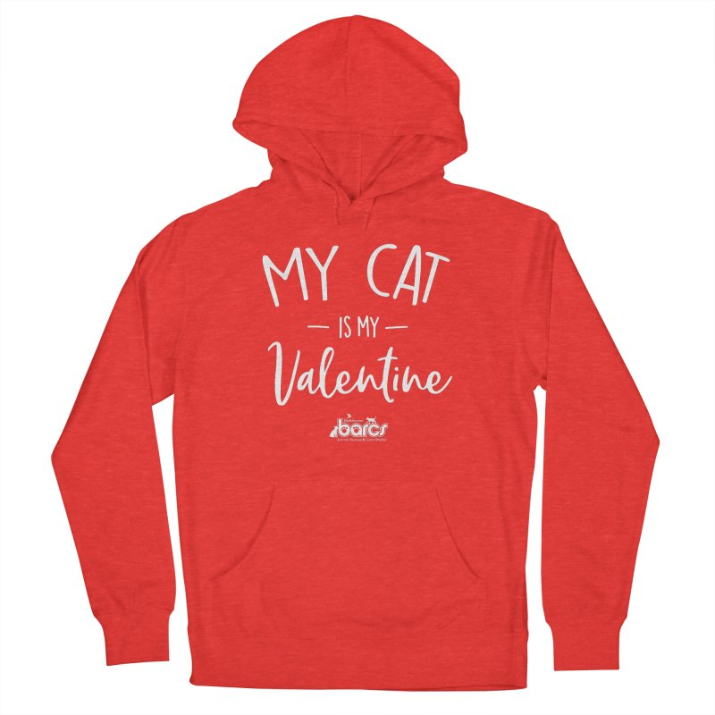 My Cat is my Valentine Men's Pullover Hoody by BARCS Online Shop
