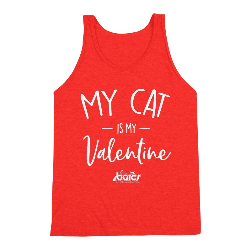 My Cat is my Valentine Men's Tank by BARCS Online Shop