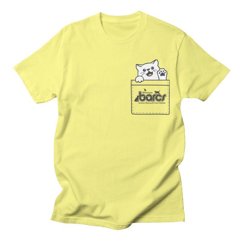 BARCS Logo Pocket Pals (Kitty) Men's T-Shirt by BARCS Online Shop