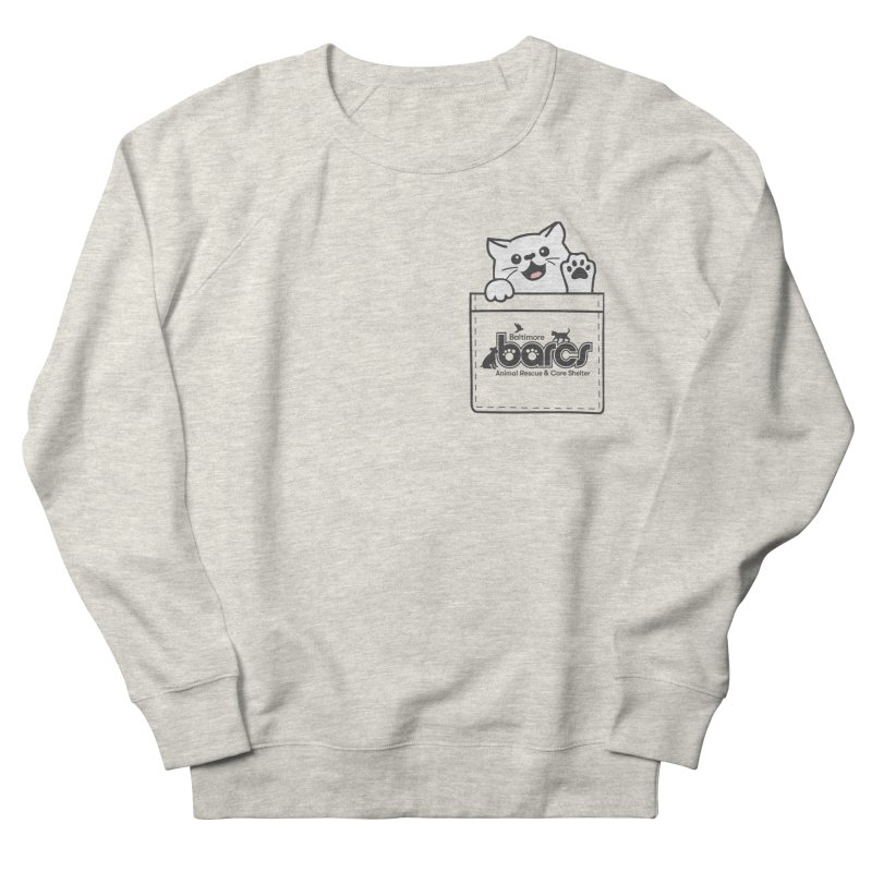 BARCS Logo Pocket Pals (Kitty) Men's Sweatshirt by BARCS Online Shop