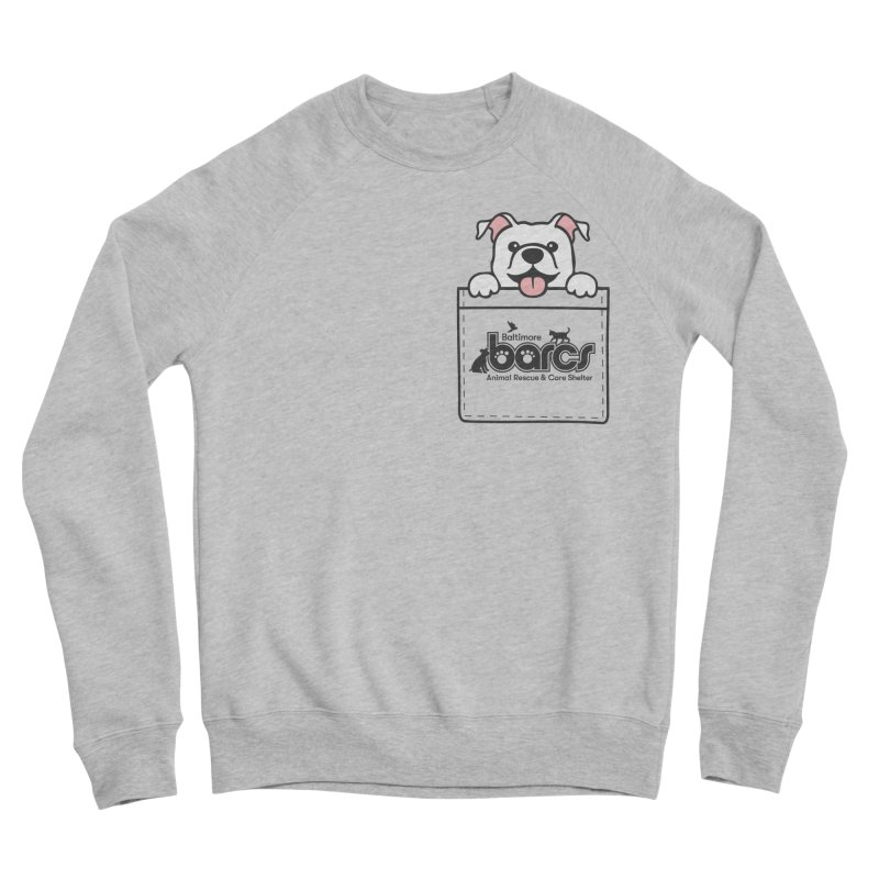 BARCS Logo Pock Pals (Puppy) Men's Sweatshirt by BARCS Online Shop