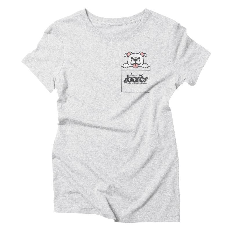 BARCS Logo Pock Pals (Puppy) Women's T-Shirt by BARCS Online Shop