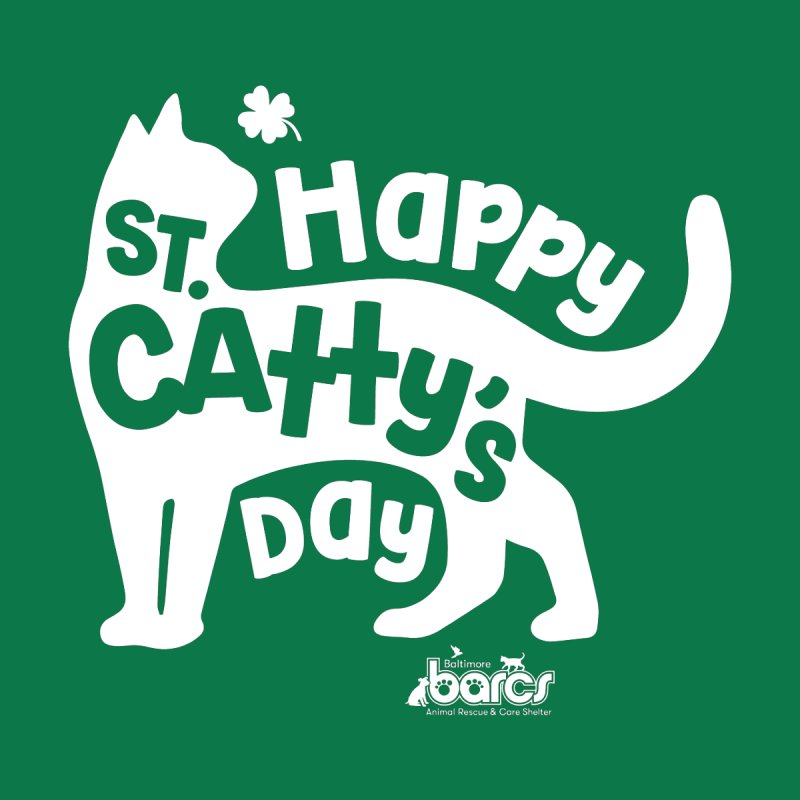 St. Catty's Day Men's Tank by BARCS Online Shop