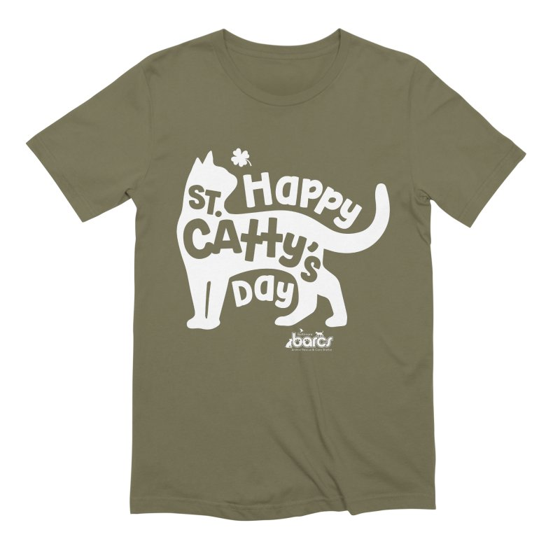St. Catty's Day Men's T-Shirt by BARCS Online Shop