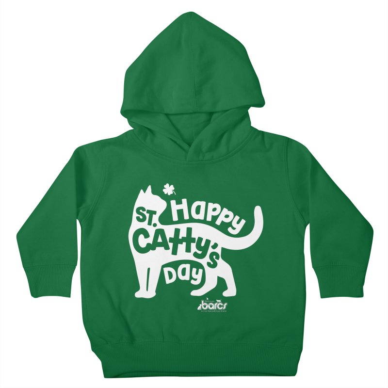 St. Catty's Day Kids Toddler Pullover Hoody by BARCS Online Shop