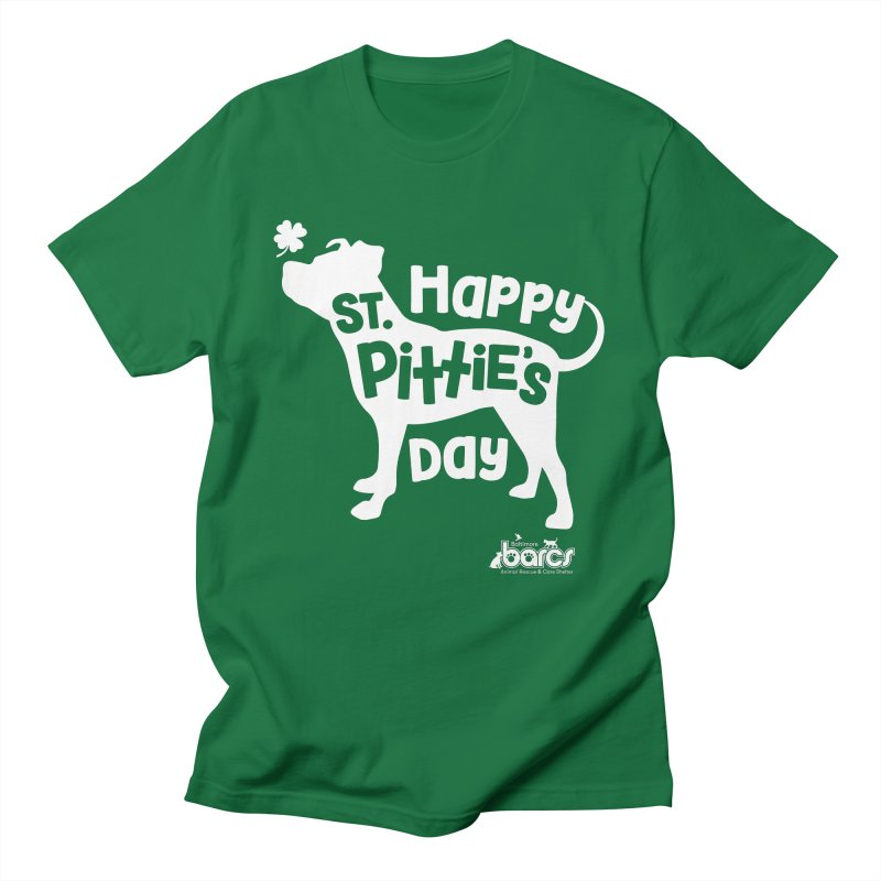 St. Pittie's Day Men's T-Shirt by BARCS Online Shop