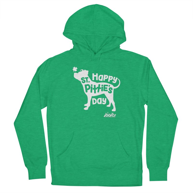 St. Pittie's Day Men's Pullover Hoody by BARCS Online Shop