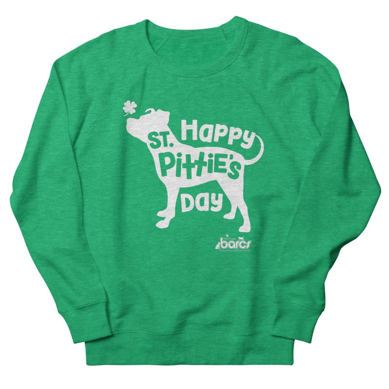 St. Pittie's Day Men's Sweatshirt by BARCS Online Shop