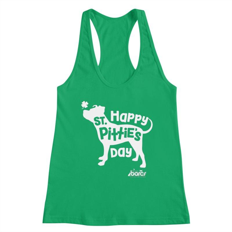 St. Pittie's Day Women's Tank by BARCS Online Shop