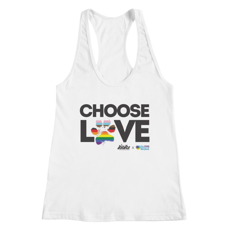 Choose Love - BARCS x The Pride Center of Maryland Women's Tank by BARCS Online Shop