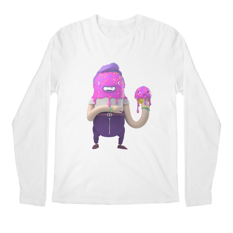 Hoola Bob Men's Longsleeve T-Shirt by bard's Artist Shop