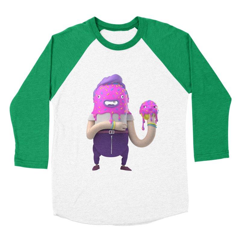 Hoola Bob Women's Baseball Triblend T-Shirt by bard's Artist Shop