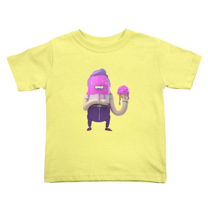 Hoola Bob Kids Toddler T-Shirt by bard's Artist Shop