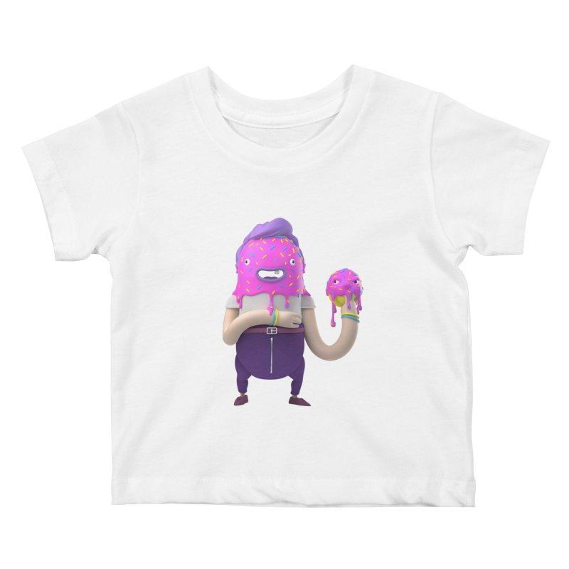 Hoola Bob Kids Baby T-Shirt by bard's Artist Shop