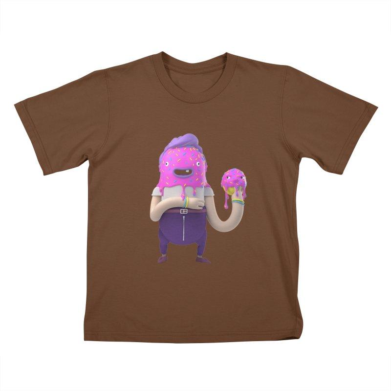 Hoola Bob Kids T-shirt by bard's Artist Shop