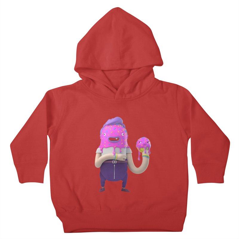 Hoola Bob Kids Toddler Pullover Hoody by bard's Artist Shop