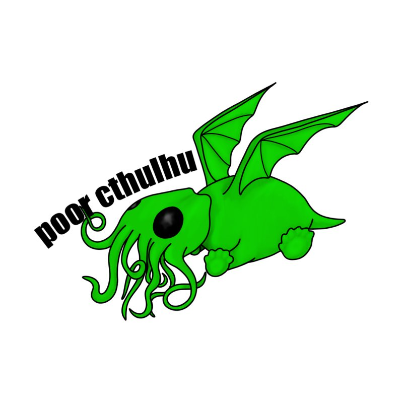 Cthulhu Sticker Accessories Sticker by Barely Bookish