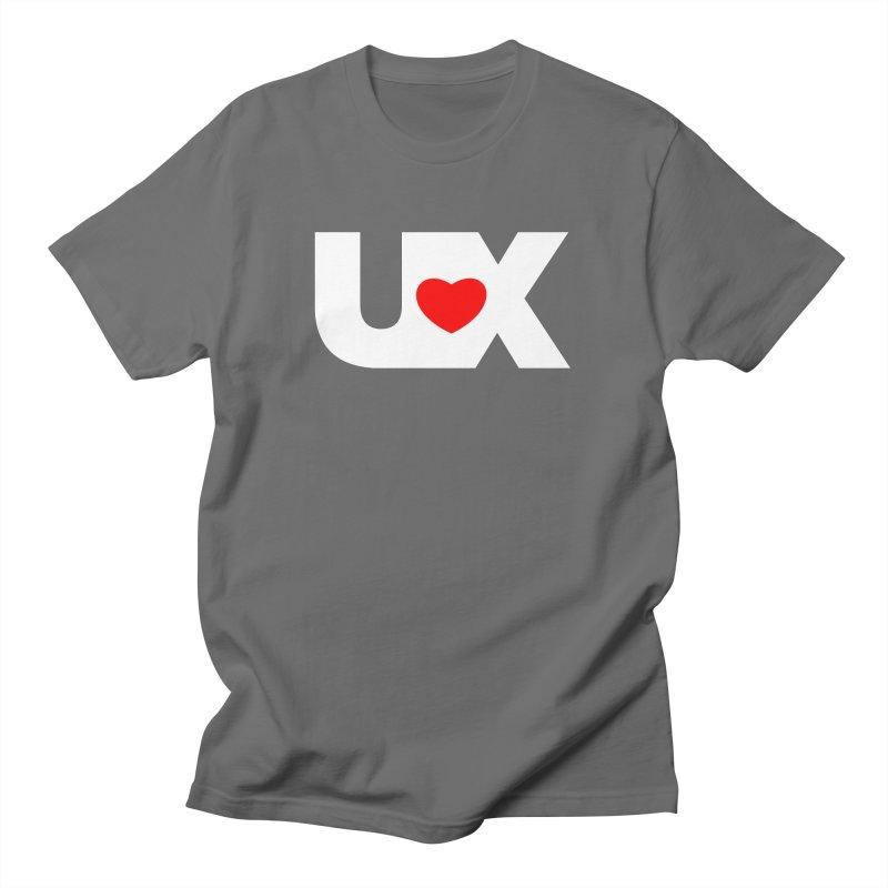 I Love UX Men's T-Shirt by CuTEES merch
