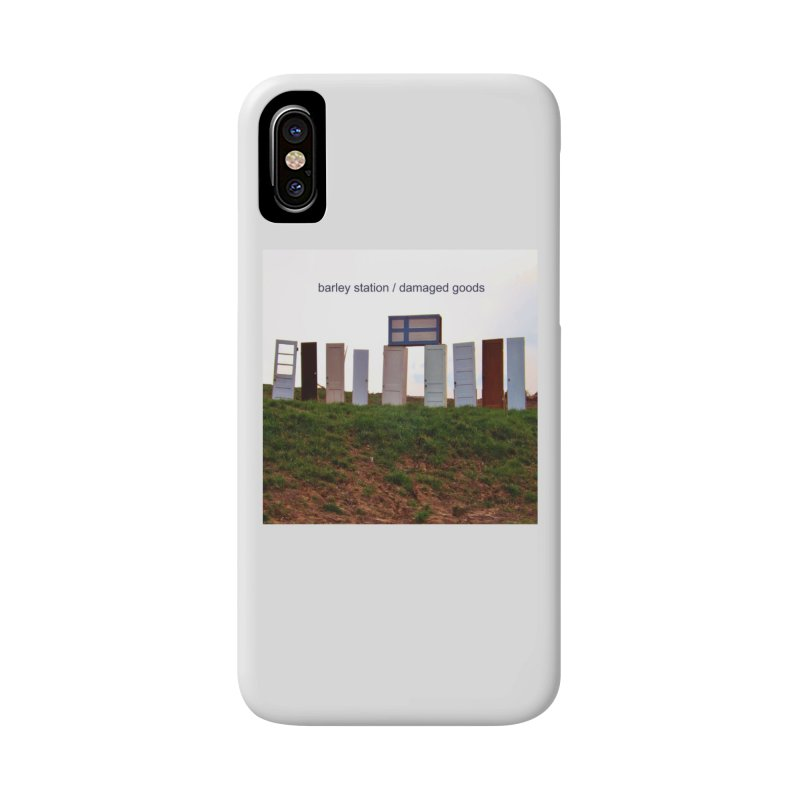 Barley Station's 'Damaged Goods' Album Art Products Accessories Phone Case by The Barley Station Store