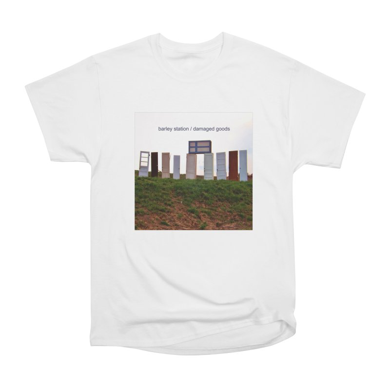 Barley Station's 'Damaged Goods' Album Art Products Women's Heavyweight Unisex T-Shirt by The Barley Station Store